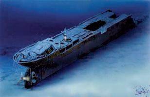 Wreck tech diving – Sardinie 2006