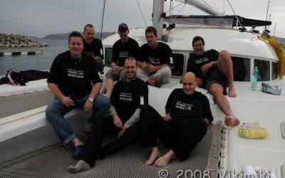 Wreck tech diving – Francie 2008