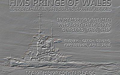 """Wreck tech diving – """"Force Z"""" Malajsie 2010"""