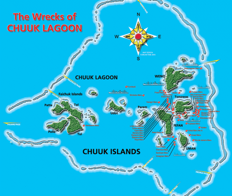 Wreck tech diving – Truk Lagoon – 2011