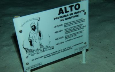 Technical cave diving – Mexiko 2012