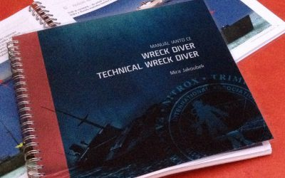 IANTD – Wreck & Advanced Wreck & Technical Wreck Manuál