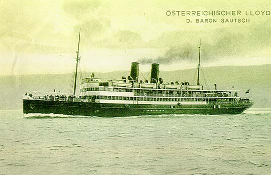 Baron Gauch – Titanic Jadranu