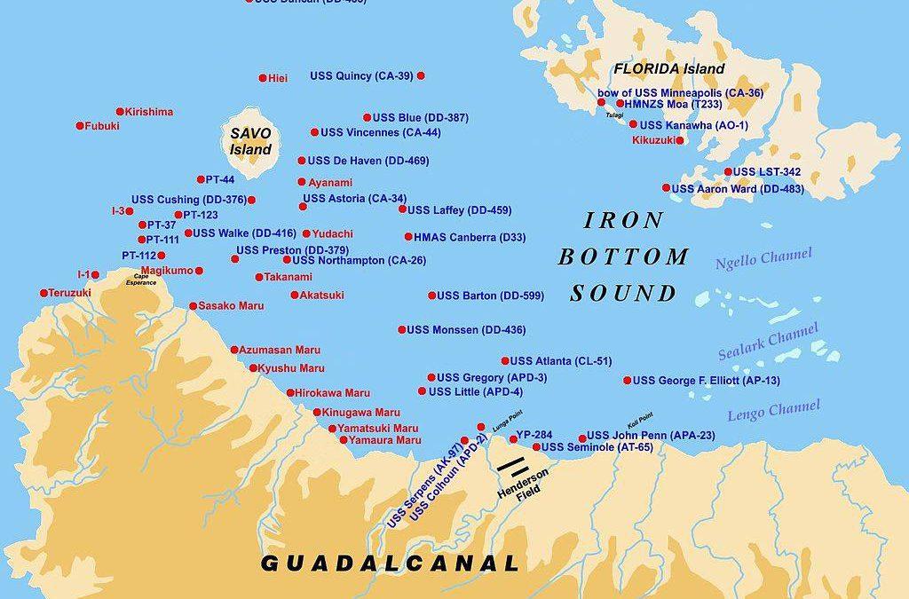 Šalamounovy ostrovy – Guadalcanal