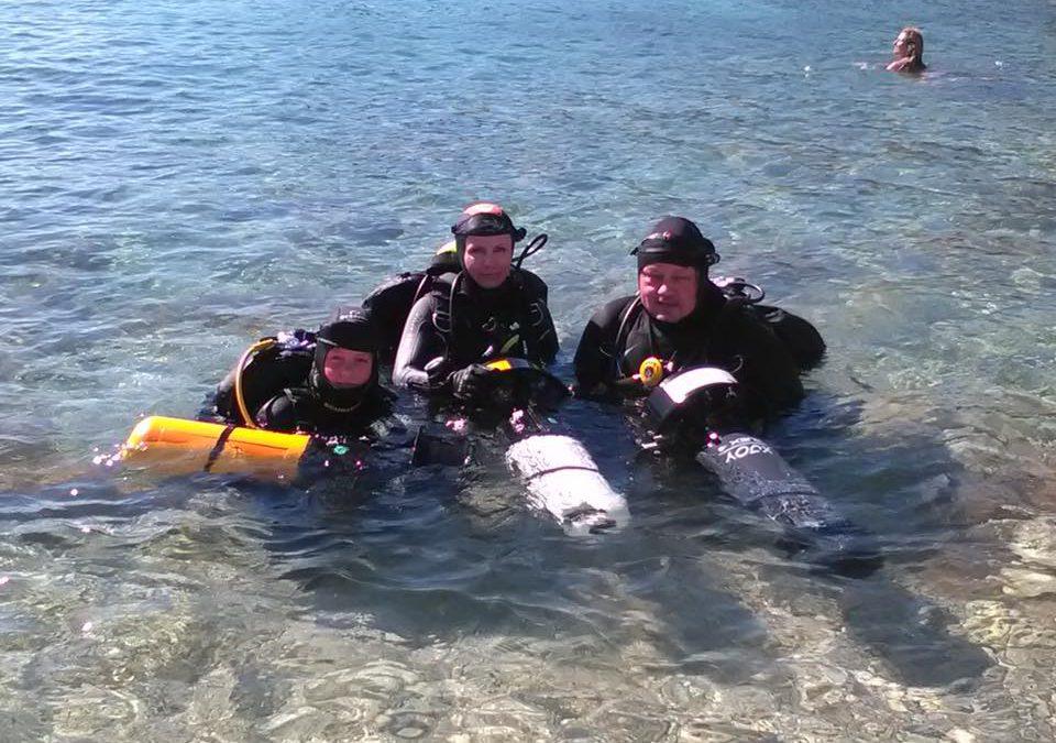 Chovatsko 8/2016 – kurzy IANTD OWD, AOWD, EANx a DPV Diver