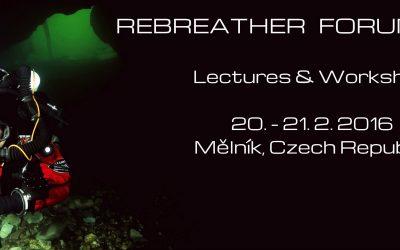 Rebreather forum 2016 Mělník